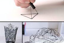★ 3D tekenen