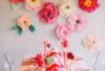 Wedding ideas / Flower wall