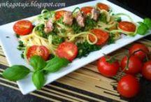 Makarony / Przepisy na dania z makaronem