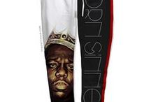 Hip-hop Gear / Unisex clothes with a hip-hop theme.