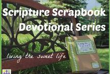 Organizing Scripture Scrapbooks / These are some jumping-off points for a creating a scripture scrapbook... no rules, just inspiration!  Don't miss my Scripture Scrapbook Devotion series for lots of photos of my own scripture scrapping!