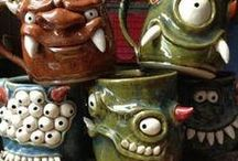"""""""Monster Mugs"""" Pinspiration Board / This board is here to inspire those completing the """"Monster Mugs"""" lesson plan!"""
