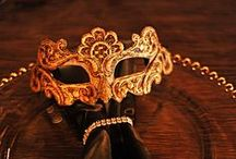 Masquerade / | Venetian themed masquerade event. Dangerous Beauty with a little Phantom of the Opera. |