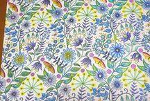Colouring - Secret Garden