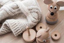Kinder // Holzspielzeug / Alternativen zu Plastik: Schöne Spielsachen für Kinder aus Holz