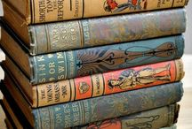 Vintage Books To Collect / Forgotten stories and past editions of classics take us back to the past in a way no E-Reader can do.