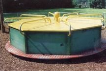 Playgrounds From the Past / Playgrounds once had plenty of challenge and interest for older children thankfully modern playground companies are bringing these qualities back.