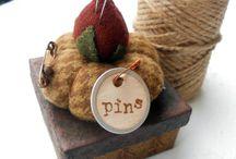 Pin cushions / by Blynie