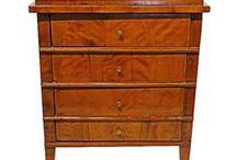 Furnishings / Antique Furniture and Home Decor. Chairs, Tables, Chests, Desks, Cabinets, Mirrors, Boxes & Caddies, Lighting, Sconces, Brackets, Clocks