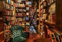 Bookstores & Libraries / Places where books live.