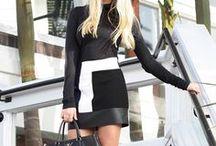 Black & White / Blanco y negro / Compartiendo aquellas prendas en blanco y negro que combinan con todo.