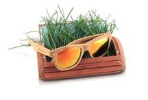 Ecolution Bamboo and Wood - Raleri Sunglasses / Original models of sunglasses manufactured using natural materials such as bamboo and wood.  Eco-sustainability joins the Italian fashion and design