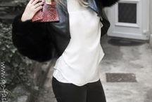 Pantalones de cuero / Leather pants / Los pantalones de cuero se vuelven a llevar, cómodos y ponibles son una opción perfecta para salir por la noche o para un look más casual