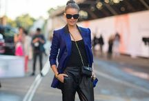 Pants and blazer