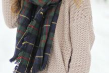 Looks with scarfs, hats and other accesorize
