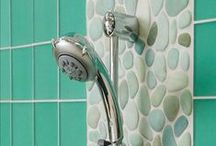 SHOWER - Wall Ideas / Ideas for adding tile to your shower wall.