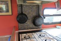RV / MOTOR HOME - Ideas / Customize your RV with the beauty of tile.