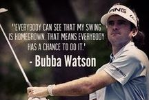 Golf Quotes / The best sayings about golf.
