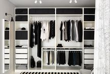 TB/ Walk-in closet/ Mellomrommet / Garderoben