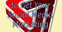 Social Media / Make the most of your social media marketing time. Learn strategies you can use to improve your social media posts on Pinterest, Twitter, Instagram, Facebook and other sites.