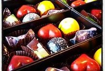 The Confectionery Collection Chocolates / This is a selection of our chocolates.  www.theconfectionerycollection.co.nz