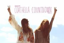 Coachella 2015 / Our year round planning Coachella board