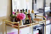 Cheers! Bar Cart Inspiration