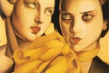"Tamara de Lempicka (1898 – 1980) ""Polonia"" / Pittura, stile, Art Déco"