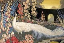 Jessie Arms Botke (1883-1971) / American female artist