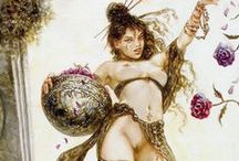 Luis Royo - Dome / By way of Sistine Chapel