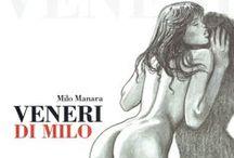 Milo Manara - Veneri di Milo / Pin-up by Milo