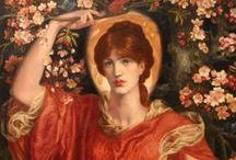 Dante Gabriel Rossetti (1828-1882), English / Painter, illustrator and poet