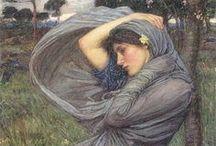 John William Waterhouse (1849-1917) / Pittore inglese preraffaelita