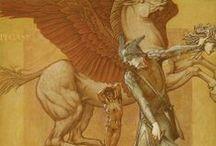 Edward Burne Jones (1833-1898) / Pittore inglese preraffaellita