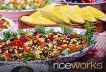 Picnic Recipes / Delicious recipes and tips for building a great picnic menu, featuring riceworks!
