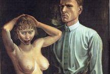 Otto Dix (1891-1969) pittore tedesco / Scuola Neue Sachlichkeit (Nuova oggettività)