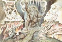 William Blake - La Divina Commedia / Illustrazioni della Divina Commedia di Dante Alighieri