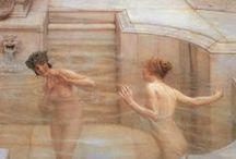 Lawrence Alma-Tadema (1836-1912) / Pittore Olandese-Britannico
