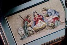 Cross-stitch / by Jayne Russell