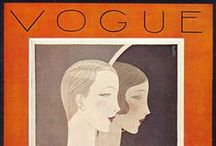 The illustrated covers of Vogue magazine / Fashion - Art Decò
