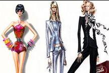 drawing girls of fashion