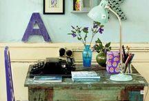 around my desk