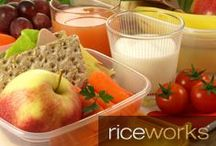 Lunch ideas / Everyone needs a little bit of inspiration to spice up your routine lunches. These ideas will help ... pair these with your favorite riceworks for the perfect lunch!