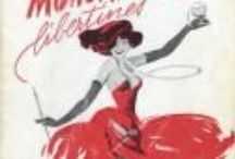 Cabaret / vintage cabaret programs, mostly Paris and New York, early-to-mid 20th century