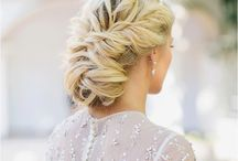 Hair of bride