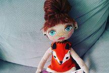 neshka dolls / My Cloth dolls
