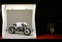 paperbikes / bike and moto papercraft model kits
