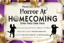 Horror at Homecoming / Great ideas and inspiration for throwing your Horror at Homecoming party! / by Night Of Mystery