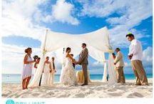 Caribbean Beach Ceremony / Turks and Caicos weddings on the beach