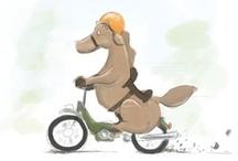 Funny (Dutch) animal illustrations by Roy Korpel